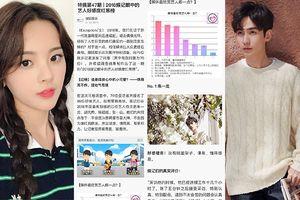Những ngôi sao Hoa Ngữ chiếm được 'cảm tình' của giới truyền thông: Chu Nhất Long và Dương Siêu Việt đứng đầu bảng