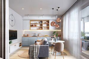 Cách bố trí căn hộ nhỏ đầy phong cách