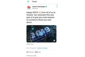 Huawei phạt hai nhân viên vì dùng iPhone đăng Twitter