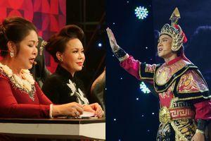 Việt Hương ngạc nhiên với tiết mục của diễn viên Dương Cường tại 'Người nghệ sĩ đa tài'