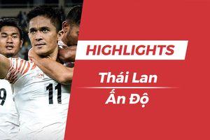 Highlights Asian Cup 2019: Thái Lan 1-4 Ấn Độ