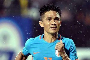 Cầu thủ Ấn Độ vượt Messi trong cuộc đua ghi bàn cho tuyển quốc gia