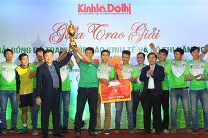 Bế mạc Giải bóng đá tranh Cúp báo Kinh tế và Đô thị