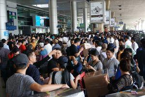 Sân bay Tân Sơn Nhất lên phương án chống quá tải dịp Tết