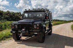 SUV Land Rover Defender 'chất phát ngất' nhờ dân chơi Mỹ