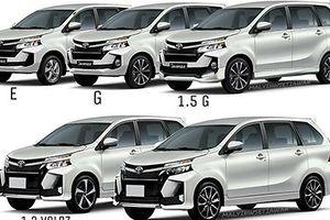 Xe giá rẻ Toyota Avanza 2019 lộ diện, sắp về VN