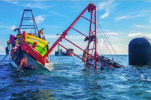 Đội tàu thuyền an toàn ở Rạch Gốc