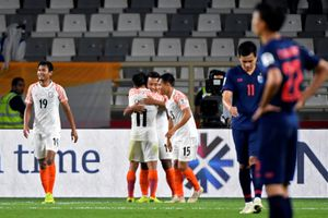 Thái Lan nhận cú sốc trong trận ra quân ở Asian Cup 2019