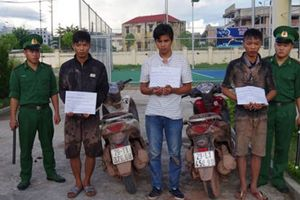 Ba thanh niên trộm 30 xe mô tô mang sang Trung Quốc tiêu thụ