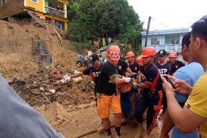Philippines: Số nạn nhân thiệt mạng do bão và lở đất lên tới 126 người