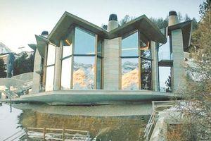 Biệt thự dưới lòng đất của giới giàu giữa núi tuyết Thụy Sĩ