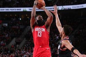 Chùm ảnh: Mạch trận thăng hoa của Houston Rockets bị chặn đứng bởi Portland Trail Blazers