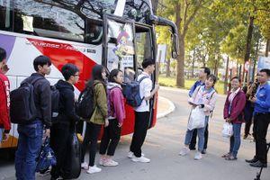 Sinh viên nhận vé xe miễn phí về quê đón Tết Nguyên đán Kỷ Hợi ở đâu?