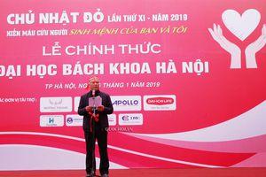 Phó chủ tịch Quốc hội Uông Chu lưu dự Ngày hội Chủ nhật Đỏ lần thứ xi -2019