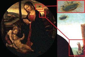 Giật mình loạt tranh cổ chứng minh UFO có từ thời cổ đại