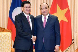 Thủ tướng hai nước Việt-Lào chủ trì kỳ họp 41 Ủy ban Liên Chính phủ