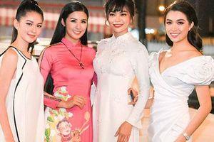Hoa hậu Ngọc Hân giới thiệu bộ sưu tập áo dài ngập tràn sắc xuân tại Duyên dáng Việt Nam