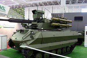 Xe tăng robot chiến đấu Uran-9 của Nga gây thất vọng lớn ở chiến trường Syria