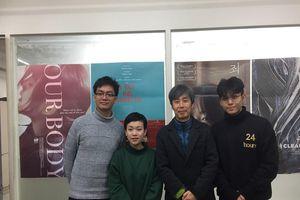 Jun Phạm sang Hàn học biên kịch phim
