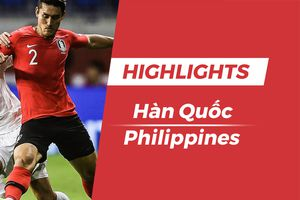 Highlights Asian Cup 2019: Hàn Quốc 1-0 Philippines