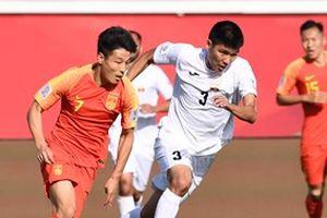 Asian Cup 2019: Đội tuyển Trung Quốc thắng nhọc đội tuyển Kyrgyzstan