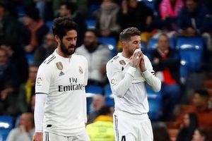 Thua sốc trên sân nhà, Real Madrid bị Barcelona bỏ xa với khoảng cách 10 điểm