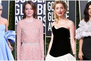 Dàn mỹ nhân Hollywood làm nóng thảm đỏ 'Quả cầu vàng 2019'