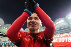 Cầu thủ Nguyễn Quang Hải được bầu là gương mặt trẻ thủ đô tiêu biểu năm 2018
