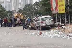 Tài xế lái ô tô gây tai nạn ở Hà Đông khiến 2 người tử vong đến công an trình diện
