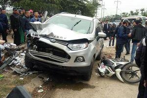 Tài xế lái ô tô đâm 4 người thương vong ở Hà Nội ra trình diện