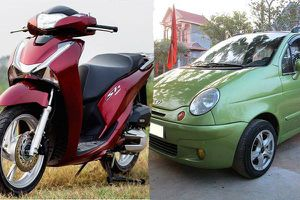 Có 120 triệu: Chơi xe máy xịn hay ô tô 'cỏ'?