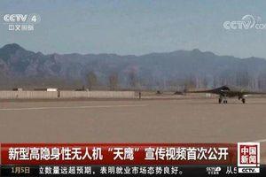 Trung Quốc tiết lộ 'đĩa bay' không người lái tuyệt mật