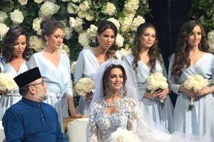 Vợ hoa hậu bí ẩn của vua Malaysia vừa thoái vị