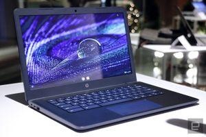 Chromebook 14 là laptop đầu tiên của HP sử dụng vi xử lý AMD