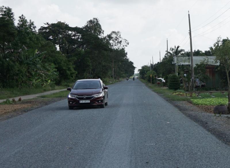Cà Mau: Thông xe kỹ thuật đường Tắc Thủ - Vàm Đá Bạc