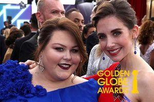 Bị nghi chửi đồng nghiệp ngay trên thảm đỏ Quả Cầu Vàng 2019, sao nữ Hollywood một mực chối đây đẩy