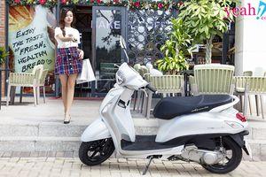 Giải mã sức hút bộ ảnh mới nhất của Midu với nữ hoàng xe ga 'Grande Hybrid'