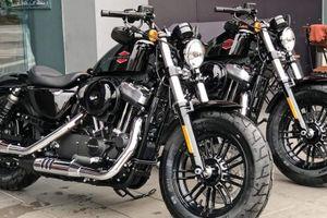 Harley-Davidson Forty-Eight 2019 tem Vivid Black ra mắt với giá bán từ 470 triệu đồng
