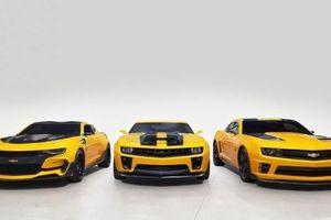 4 chiếc Chevrolet Camaro trong series Transformers được đem đấu giá từ thiện