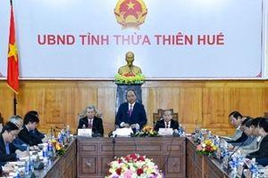 Thủ tướng Nguyễn Xuân Phúc làm việc tại tỉnh Thừa Thiên – Huế