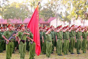 Trung đoàn CSCĐ Tây Nam Bộ phát động ký kết giao ước thi đua