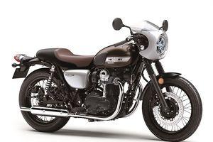Kawasaki ra mắt W800 Cafe với kiểu dáng hoài cổ
