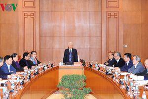 Phiên họp thứ nhất Tiểu ban văn kiện Đại hội XIII của Đảng