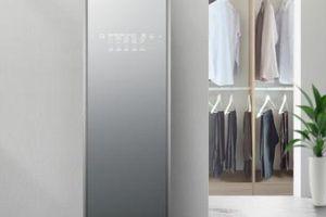 CES 2019: LG trình làng tủ chăm sóc quần áo thông minh, máy giặt sấy công suất lớn