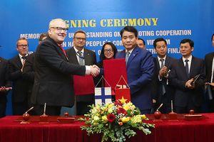 Thúc đẩy quan hệ hợp tác giữa TP Hà Nội và vùng Nam Ostrobothnia