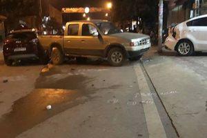 Sơn La: Cảnh sát giao thông gây tai nạn giao thông liên hoàn