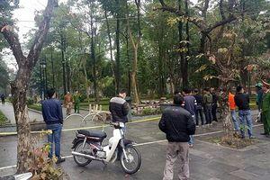 Hà Nội: Phát hiện một phụ nữ chết ở vườn hoa Hà Đông