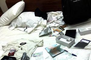 Hàng chục nam nữ mở 'tiệc ma túy' trong homestay có súng, đạn