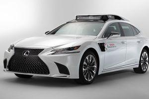 Lexus LS thành mẫu vật cho công nghệ tự lái của Toyota