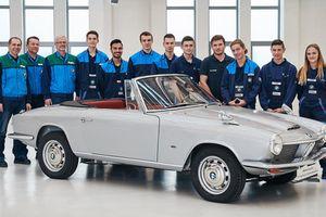 Chiếc BMW mui trần độc nhất vừa tái sinh sau nửa thế kỷ
